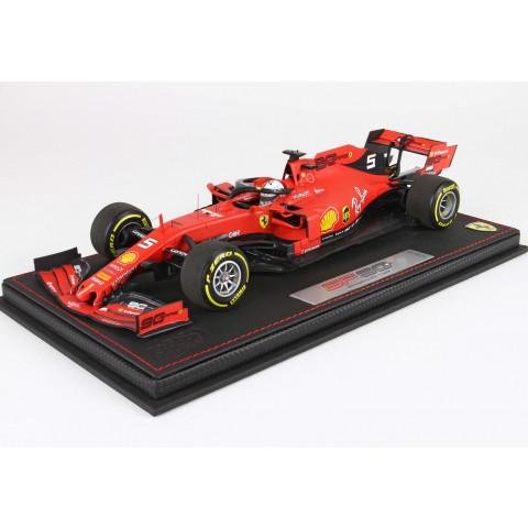 BBR - Ferrari SF90 Vettel #5, GP Belgium 2019: BBR191825ST