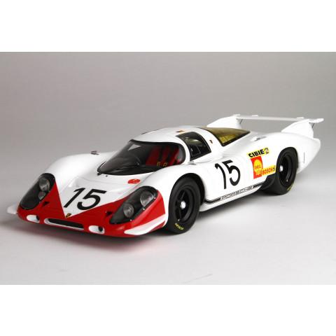 BBR - Porsche 917 #15, Le Mans 1969: BBRC1833D
