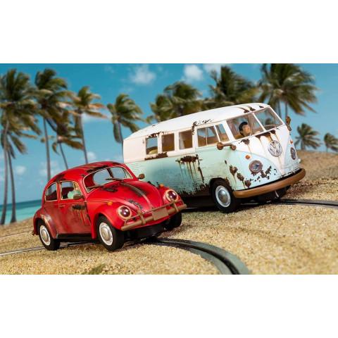 "Scalextric - VW Fusca e Kombi - Pintura ""Enferrujada"": C3966A"