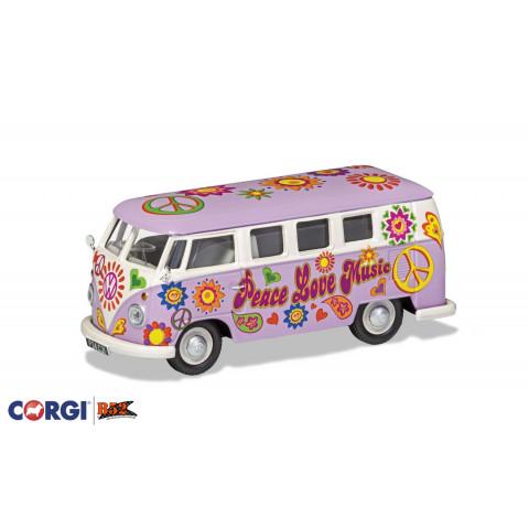 Corgi - VW Kombi, Peace and Love: CC02730