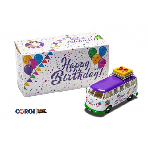 Corgi - VW Kombi, Happy Birthday: CC02734