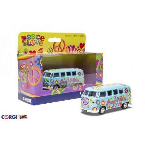Corgi - VW Kombi, Peace and Love: CC02738