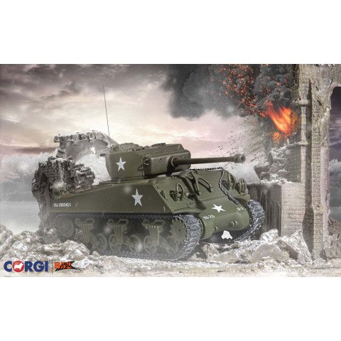 Corgi - Sherman M4 A3 (Late) – US Army, Luxemburgo 1944: CC51031
