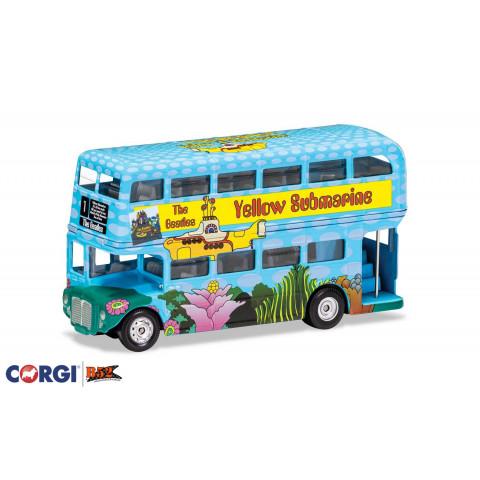 "Corgi - The Beatles London Bus ""Yellow Submarine"": CC82333"