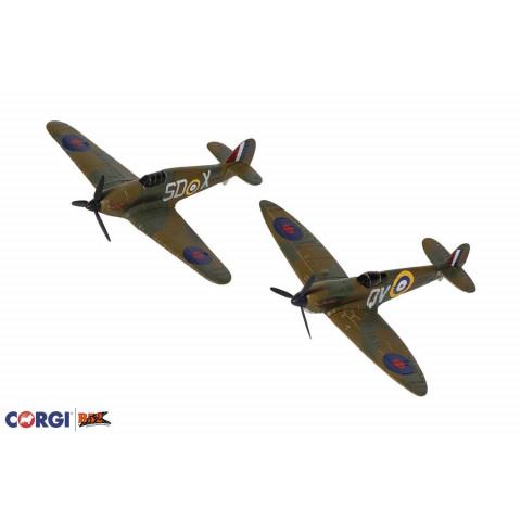 """Corgi - Spitfire e Hurricane, Coleção """"Battle of Britain"""": CS90686"""