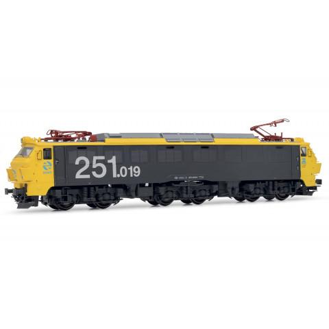 Electrotren HO - Locomotiva Elétrica: RENFE 251.019: E2596