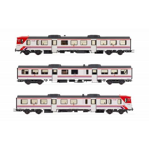 Electrotren HO - Carros Diesel DMU Class 592, RENFE - E3420