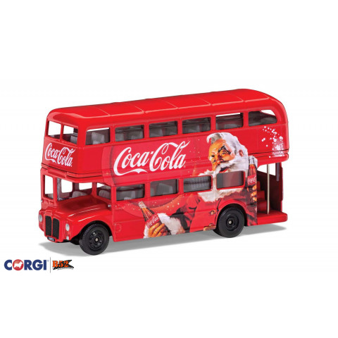 Corgi - Christmas London Bus, Coca-Cola®: GS82331