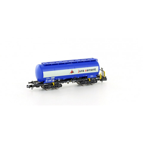 "Hobbytrain / Lemke - Vagão Silo, Uacs blue ""Jura Cement"" (N): H23487"