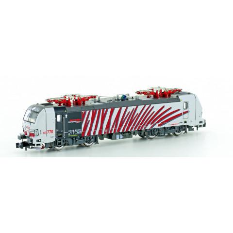 """Hobbytrain / Lemke - E-Lok BR193 Vectron, """"Red Zebra"""" (N): H3002"""