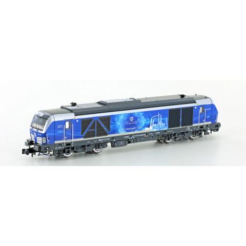 Hobbytrain / Lemke - Locomotiva BR 247 907 Vectron (N): H3103