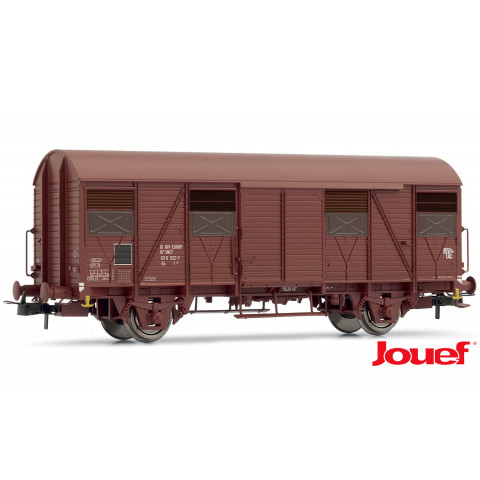 Jouef HO - Vagões Fechados G4, set com 2, UIC ORE: SNCF - HJ6154