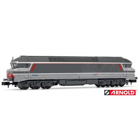 "Arnold N - Locomotiva Diesel CC72000 ""Multiservice"", SNCF: DCC c/ Som - HN2383S"