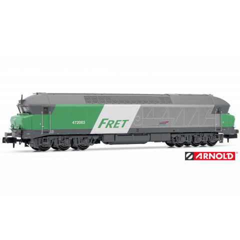 "Arnold N - Locomotiva Diesel CC72000 ""Fret"", SNCF - HN2385"