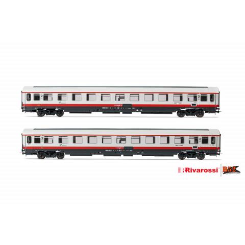Rivarossi HO - Carros de Passageiros, set com 2, FS: HR4283
