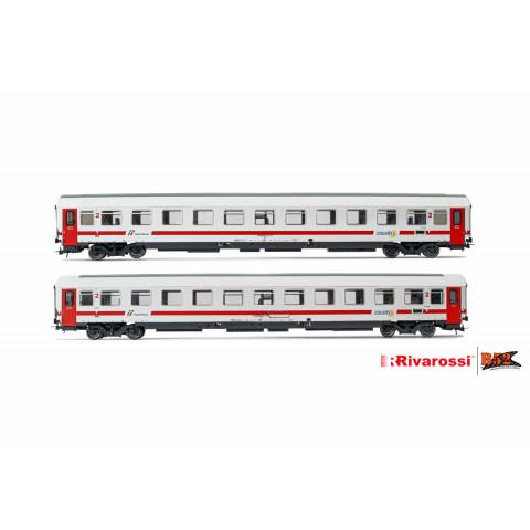 Rivarossi HO - Carros de Passageiros, set com 2, FS: HR4284