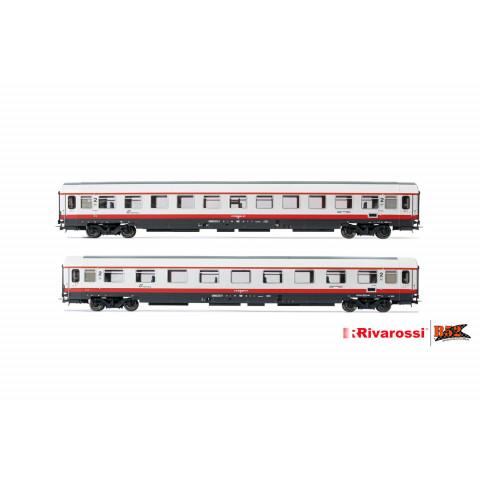 Rivarossi HO - Carros de Passageiros, set com 2, FS: HR4285