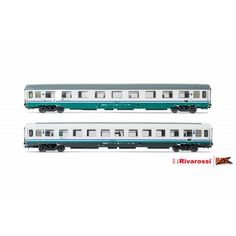 Rivarossi HO - Carros de Passageiros, set com 2, FS: HR4286