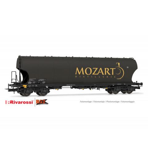 "Rivarossi HO - Vagão Hopper de 4 eixos, ""Mozart Distillerie"": HR6474"