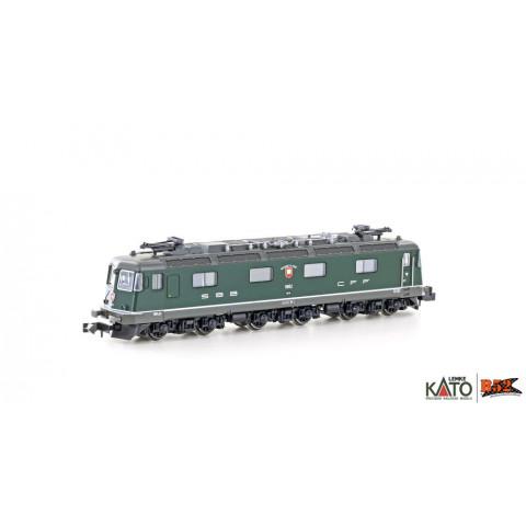 Kato / Lemke (N) - Locomotiva Elétrica SBB Re 6/6: K10174