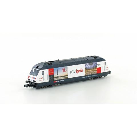 Kato / Lemke - E-Lok SBB Re4/4 460, TGV Lyria (N): K137120