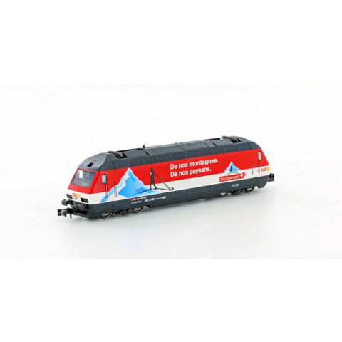 Kato / Lemke - E-Lok SBB Re4/4 460, COOP Pro Montagna (N): K137123