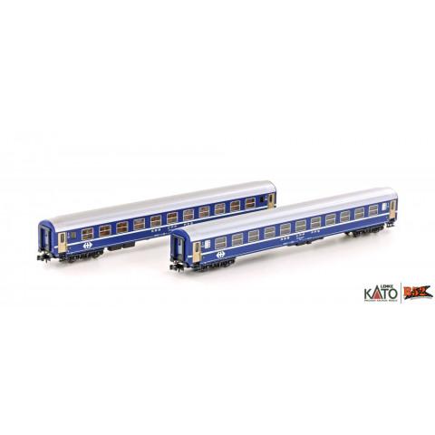 Kato / Lemke (N) - Carros de Passageiros SBB RIC Coaches: K23009