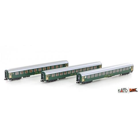 Kato / Lemke (N) - Carros de Passageiros SBB RIC Coaches: K23011