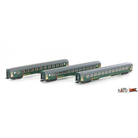Kato / Lemke (N) - Carros de Passageiros SBB RIC Coaches: K23012