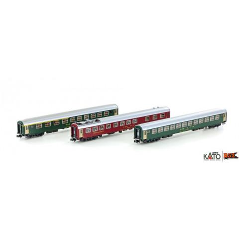 Kato / Lemke (N) - Carros de Passageiros SBB RIC Coaches: K23013