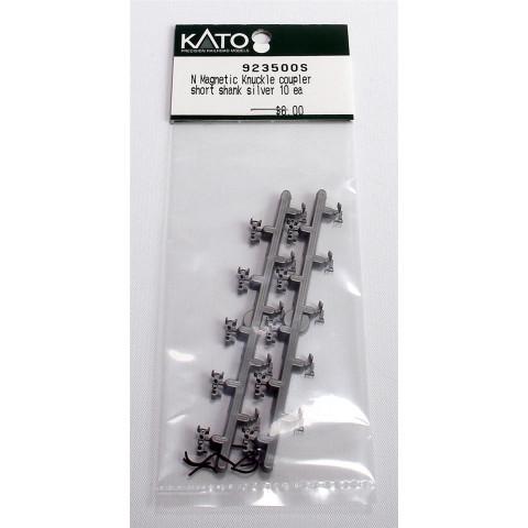 Kato - Engate Magnético, Haste Curta, em Prata, escala N: 923500S