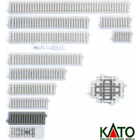 Kato HO - Trilho Reto  S114: 2-120