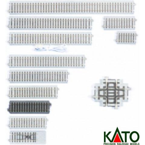 Kato HO - Trilho Reto - 123 mm: 2-140
