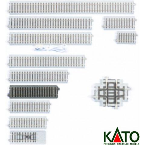 Kato HO - Trilho Reto - 149 mm: 2-193