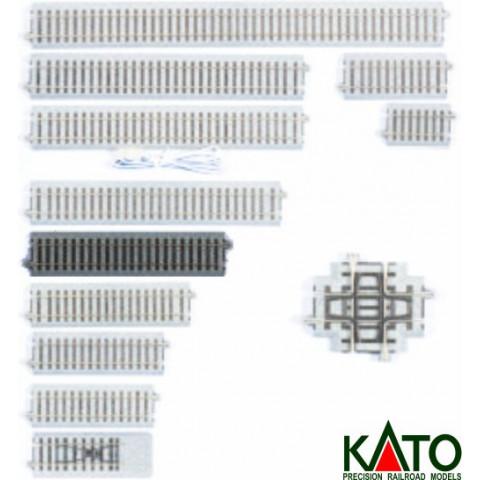 Kato HO - Trilho Reto - 174 mm: 2-130