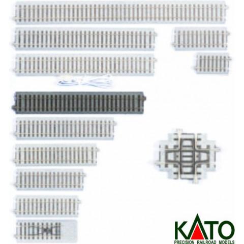 Kato HO - Trilho Reto S227: 2-160