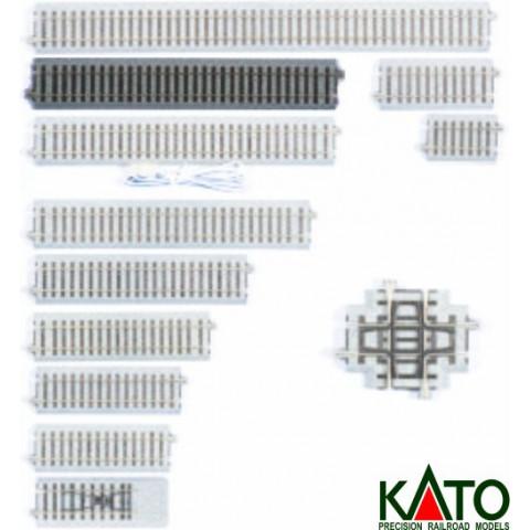 Kato HO - Trilho Reto - 246 mm: 2-150