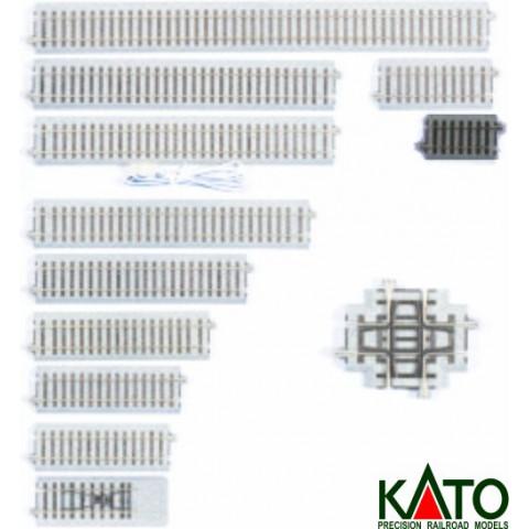 Kato HO - Trilho Reto - 60 mm: 2-105