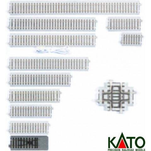 Kato HO - Trilho Reto - Bumper: 2-170