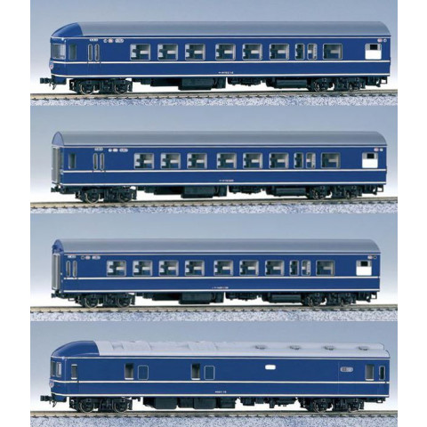 Kato HO - Vagões Express Sleeper: 3-504