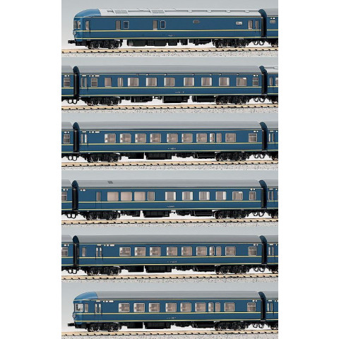 Kato N - 20 Series Sleeping Cars: 10-366