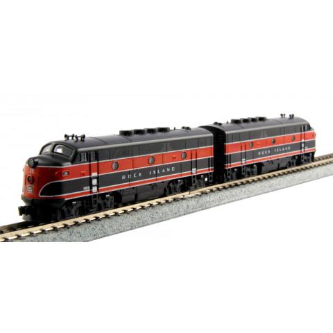 Kato N - Conjunto de Locomotivas F2A: 106-0203