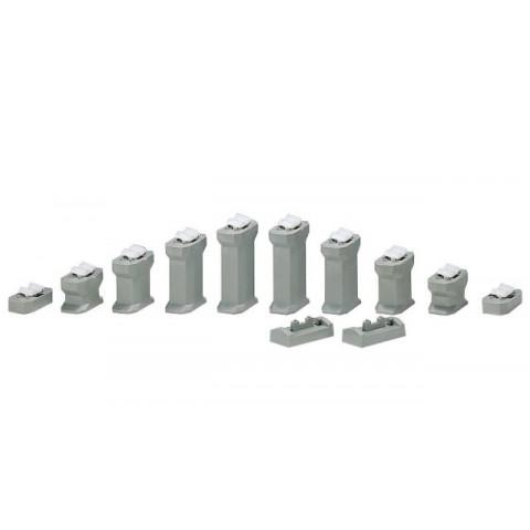 Kato N - Conjunto de Pilares Intermediários para Inclinação: 23-016