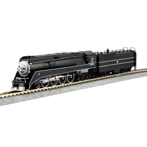 "Kato N - GS-4 Locomotiva a Vapor BNSF ""Black"",  #4449: 126-0312"