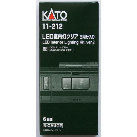 Kato N - Kit de Iluminação para Carros escala N - 6 jogos: 11-212