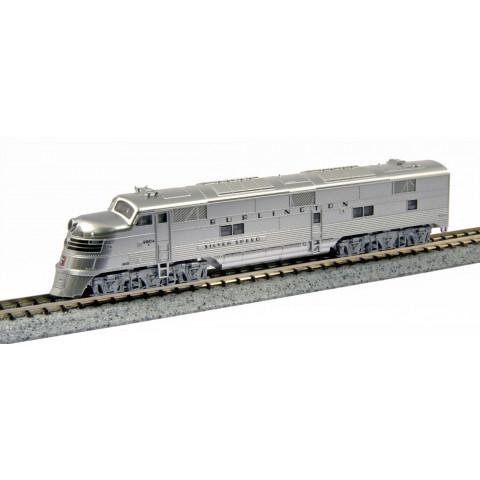 """Kato N - Locomotiva E5A CB Q #9910A """"Silver Speed"""": 176-5401"""