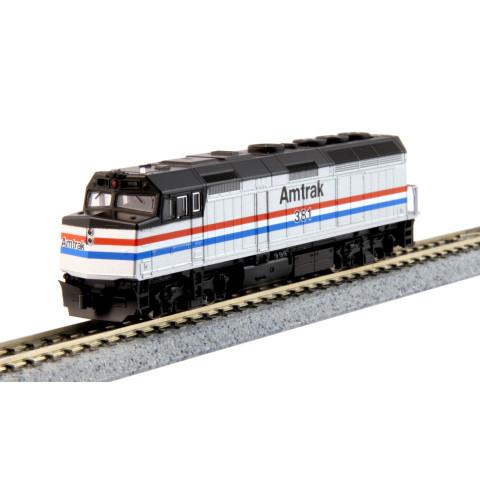 Kato N - Locomotiva EMD F40PH, Amtrak Phase III #381: 176-6107