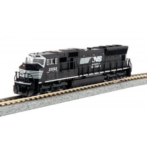 Kato N - Locomotiva EMD SD70M Norfolk Southern #2592: 176-8607
