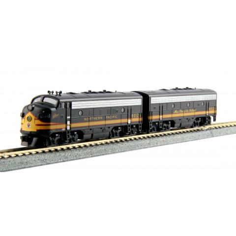 Kato N - Locomotiva F7A+F7B, Northern Pacific #6012A, #6012B: 106-0422