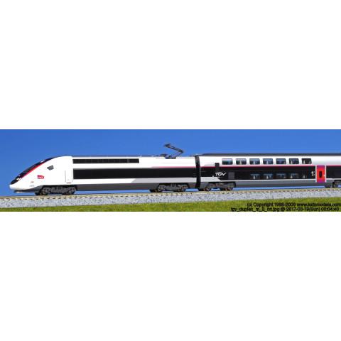 "Kato N - TGV Duplex ""New Color"" - Kato Japão: 10-1324"